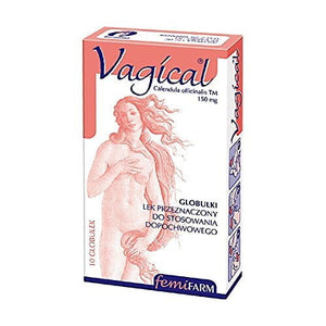 VAGICAL 10 Vaginal Globules - Marigold Extract - Intimate Infections Prophylaxis - Vaginal Health Support Treatment