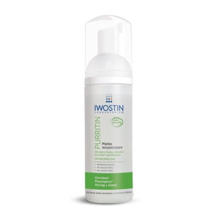 IWOSTIN PURRITIN CLEASING FOAM - 165 ML