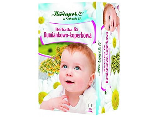 HERBAPOL - CAMOMILE – FENNEL TEA FIX - 20 sachets - This aromatic herb mixtures is an ideal thirst-quencher, and also promotes the proper functioning of the digestive tract
