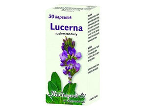 LUCERNE - 30 capsules - This preparation aids vitality of the organism, ads vital forces, physical efficiency and ameliorate sleeping