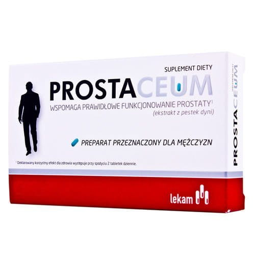 PROSTACEUM - 60 tablets - Product for men. Helps to keep correct functioning of prostate, regulates urinary process