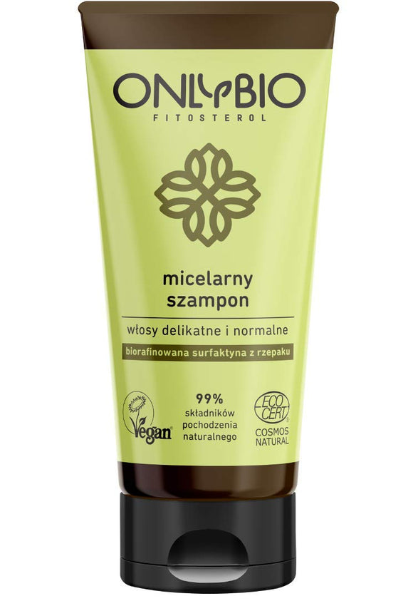 ONLYBIO - Micellar Shampoo - Delicate And Normal Hair - 200 ml VEGAN