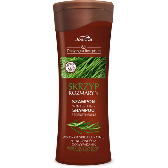 JOANNA TRADICIONAL RECIPE - Shampoo With Horsetail And Rosemary - 300 ml