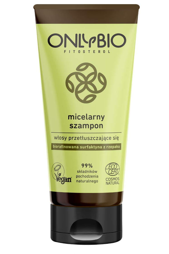 ONLYBIO - Micellar Shampoo - Greasy Hair - 200ml - VEGAN