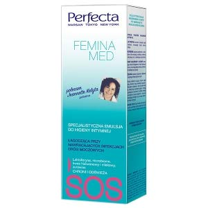 DAX Perfecta - Femina Med - Emulsion for Intimate Hygiene - Soothing - 250ml