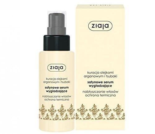 Ziaja Hair Satin Smoothing Serum with Argan and Tsubaki Oil 50ml