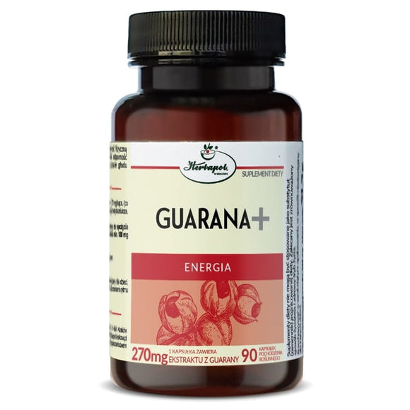 HERBAPOL - Gurana + For Energy - 90 Capsules