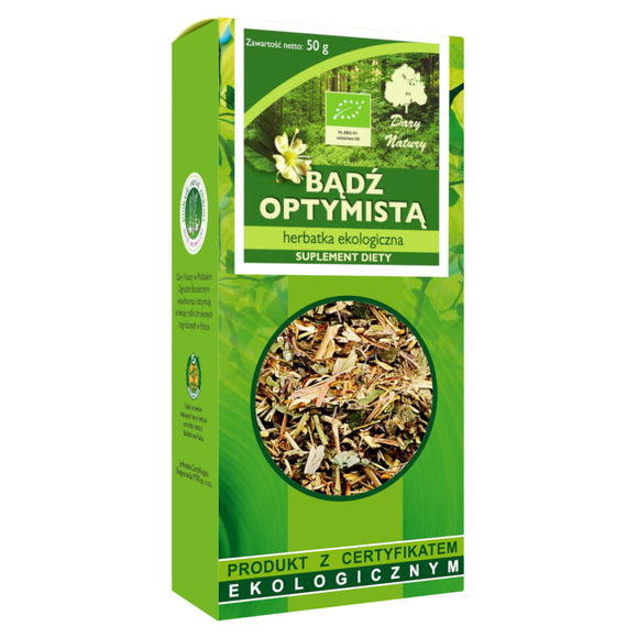 DARY NATURY - Organic Tea - Be An Optimist - 50 Grams - ORGANIC