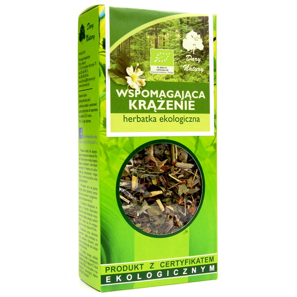 DARY NATURY - Organic Tea - Circulation - 50 Grams ORGANIC