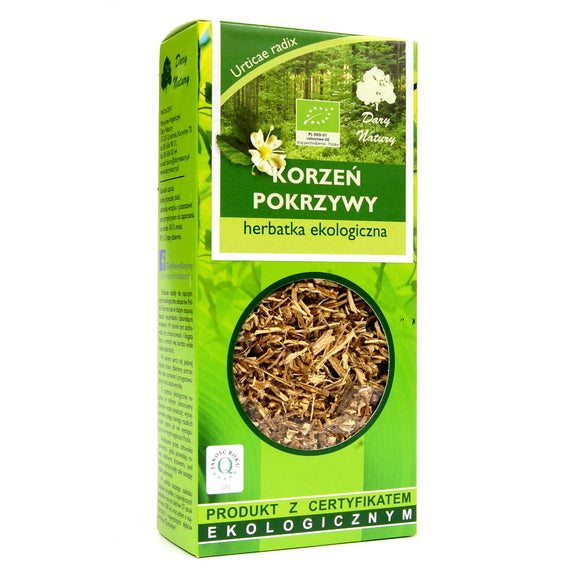 DARY NATURY - Organic Tea - Nettle Root - 50 Grams ORGANIC
