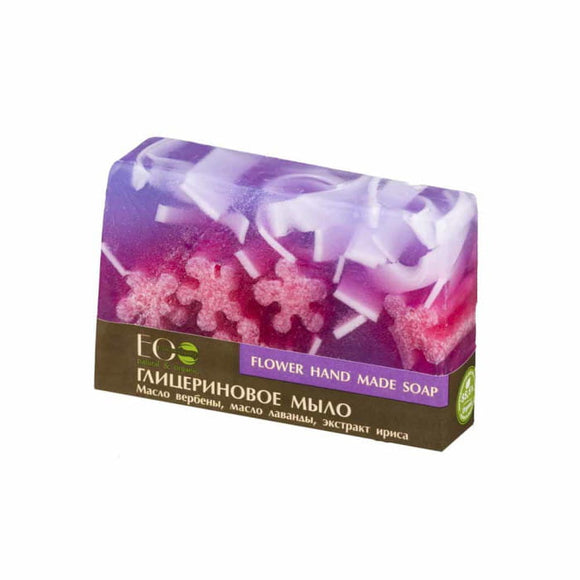 ECOLAB - Glycerine Flower Soap - 130g - Hand Made Soap