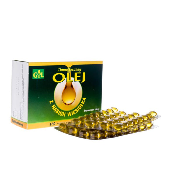 Evening Primrose Oil - Omega-6 Acid - 150 Capsules