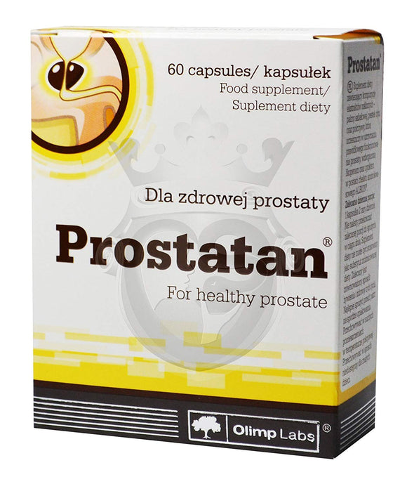 Olimp PROSTATAN - For Men Healthy Prostate - 60 capsules Saw Palmetto Pumpkin Nettle Lycopene Zinc