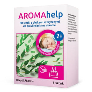 AROMAhelp - Slices With Essential Oils From The Age Of 2 - 5 pieces