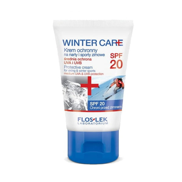 FLOS-LEK Winter Care - Protective Cream For Skiing And Winter Sports - SPF20 - 50ml