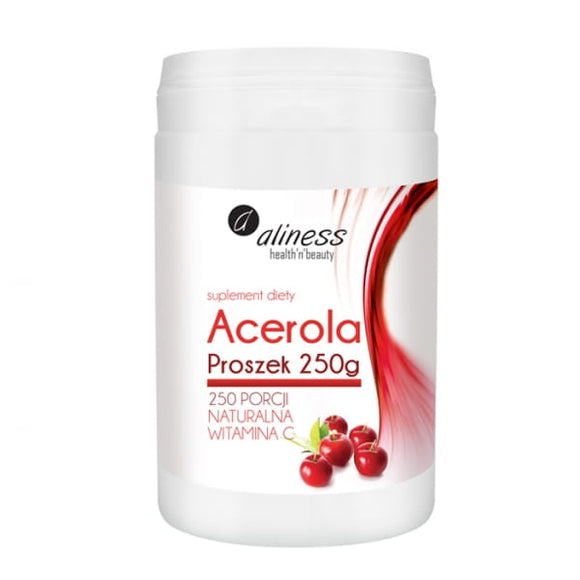 ALINESS Acerola Powder - 250G - Natural Vitamin C