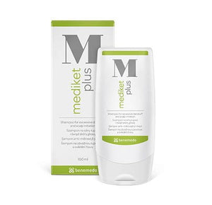 MEDIKET PLUS 200 ml shampoo - a unique dermatological shampoo for management of scaling and problems related to the excessive sebum production