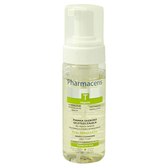 PHARMACERIS T Puri-Sebostatic Deeply Cleansing Face Foam 150 ml