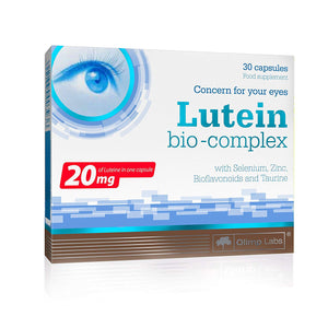 LUTEINA BIO-COMPLEX 30 CAPSULES OLIMP LABS CARING ABOUT YOUR EYES
