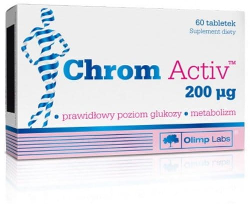 Chrom Activ N60 Provides Your Body with Effective Amounts of High-quality Chromium to Aid in Your Weight Management Programs