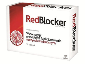 REDBLOCKER - 30 tablets - a dietary supplement ingredients support: the proper functioning of blood vessels - the production of collagen