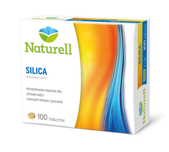 SILICA - 100 tablets - The preparation contains a range of vitamins, minerals, amino acids and herbs, biotin, riboflavin and zinc help maintain healthy skin.