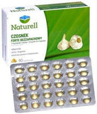 Garlic Forte - 90 capsules - odourless garlic extract enriched with vitamin D. Garlic and Vitamin D help in the proper functioning of the immune system