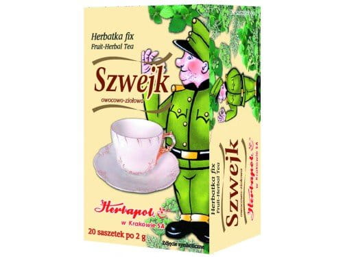 HERBAPOL - SZWEJK TEA – AMELIORATES DIGESTION - 20 sachets - Improves digestive processes, helpful in stomach upsets