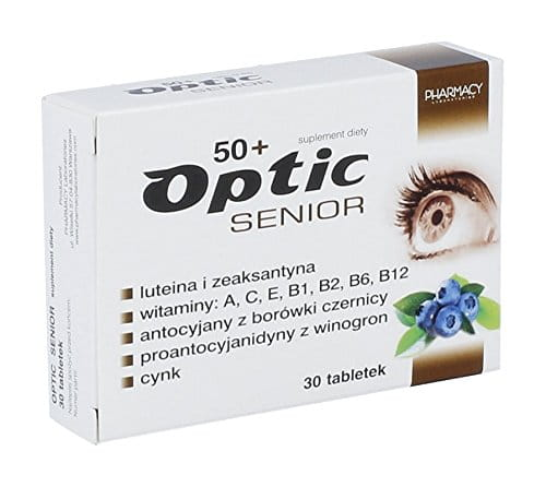 OPTIC Senior - 30 tablets