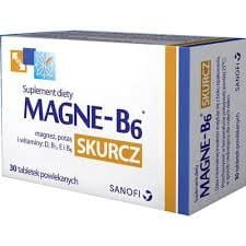 MAGNE B6 cramp - 30 tablets - is recommended for adults who want to take care of the diet with adequate nutrient levels in our body responsible for the proper functioning of muscles and nervous system