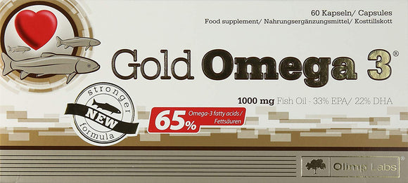 Olimp Gold Omega 365 Percent - Pack of 60 Capsules