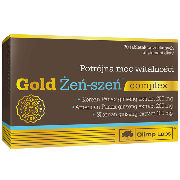 Gold Gingseng Vita Complex Energy and Vitality 30caps OLIMP