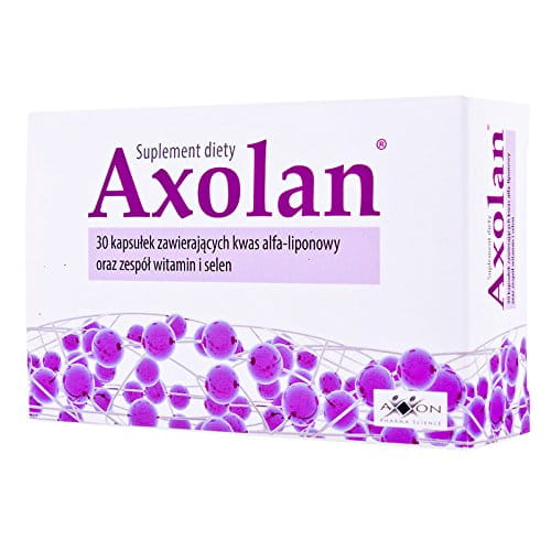 AXOLAN - 30 capsules - Food supplement indicated to maintain normal function and metabolism of nerve cells