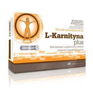 L-Carnitine Plus - 80 lozenge tablets - for people willing to lose weight.
