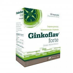 GINKOFLAV FORTE - 60 capsules - MEMORY, CONCENTRATION, BLOOD CIRCULATION