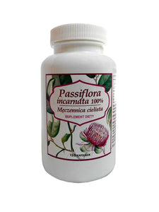 Passiflora Incarnata 500 mg - Pack of 120 Capsules - Dietary Supplement - Franciscan Monks - Traditional Old Herbal Recipe