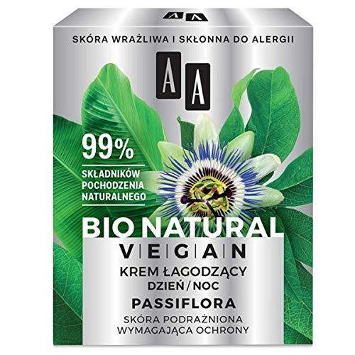 AA BIO NATURAL VEGAN - Passiflora Soothing Cream - 50 ml