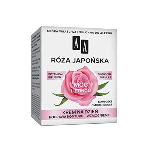 AA BOTANICAL INFUSION Plant Power, Japanese Rose, Face Cream For The Day, 60+, 50ml - lifting power