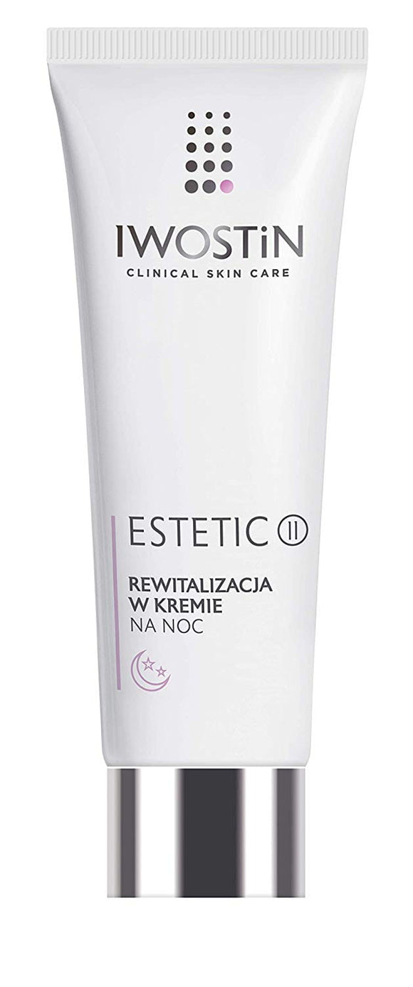 IWOSTIN ESTETIC II, Night Cream Revitalization - 40ml