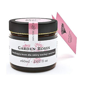 MAKE ME BIO GARDEN ROSES - 60 ml - Moisturizing Cream For Dry And Sensitive Skin