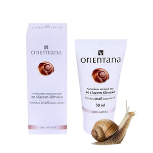 ORIENTANA Natural Hand Snail Cream - 50 ml