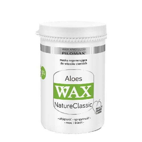 WAX NaturClassic ALOES for thin and fine hair – henna extract and aloes juice - 240 grams