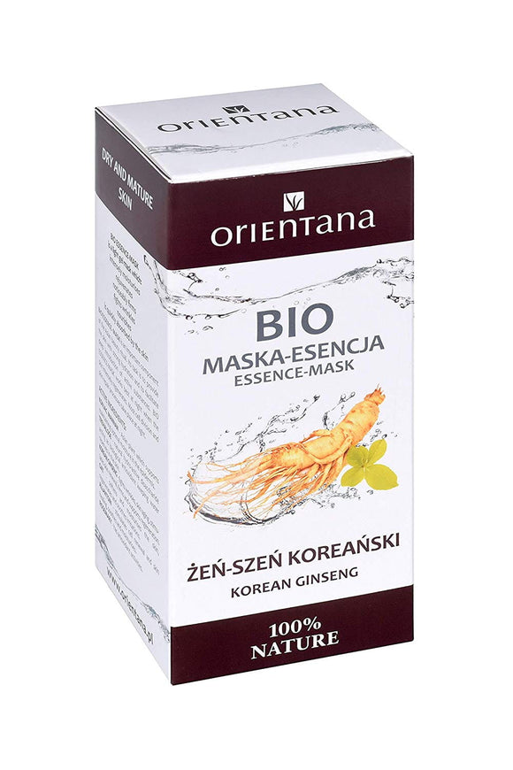 Bio Essence-Mask KOREAN GINSENG - 50ml VEGAN