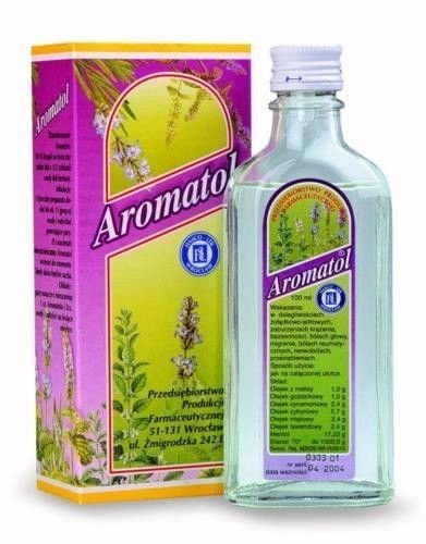 AROMATOL - 150 ml - Multi Purpose Tonic, Herbal, Internal and External Use