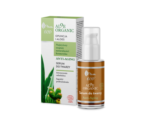 AVA Eco Aloe Organic - Anti-Aging - Face Serum - 30 ml