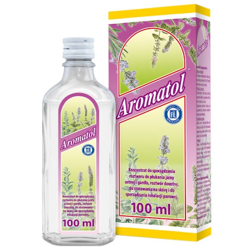 AROMATOL - 100 ml - Multi Purpose Tonic, Herbal, Internal and External Use