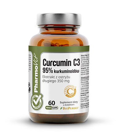 PHARMOVIT - Curcumin C3 95% Support For Metabolism - 60 capsules