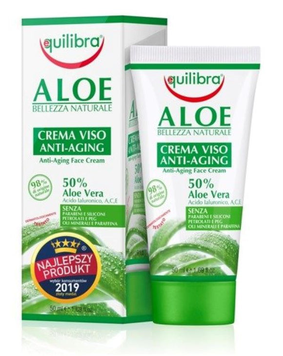 EQUILIBRA Aloe Anti-aging Face Cream - 50 ml
