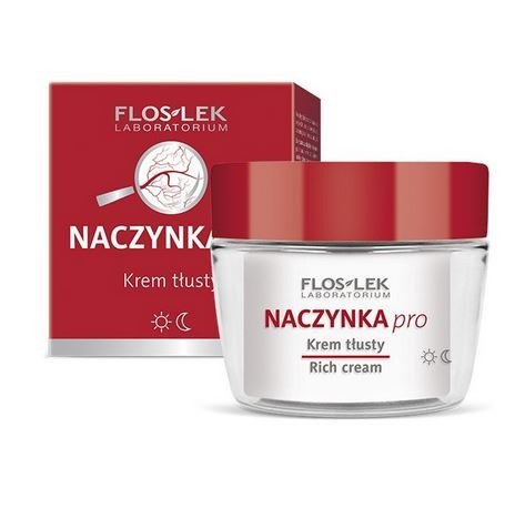 FLOS-LEK CAPILLARIES PRO, Oily Cream For Capillaries - 50 ml