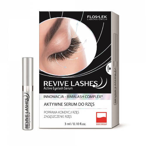 FLOS-LEK Revive Lashes Eyelash Serum - 3ml